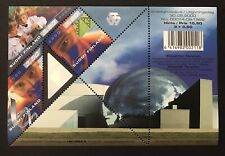 FINLAND SCIENCE HOLOGRAM S/S 2000 MNH TRIANGLE SHAPE HOLOGRAPHIC STAMPS PLANET
