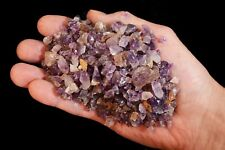 Amethyst Crystal Chips 1/2 Pound Bag Rocks for Arts & Crafts Terrariums Planters