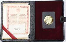 1977 Canada Queen Elizabeth II Silver Jubilee $100 Gold Proof Coin as Issued WW