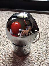 NOS NIB Vtg George Kovacs Ball Orb Mod Space Age Chrome Lamp PAIR Dead MINT