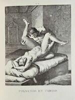 Agostino Carracci Erotic Vagina Penis Sex Art Antike Chryseis Greece Love Nude