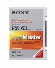 Sony Digital Master 63DM HDV Mini Video Cassette MiniDV HDV DVCAM Tape