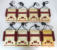 Nintendo Famicom Console Junk lot of 8 FC Retro untested Japan