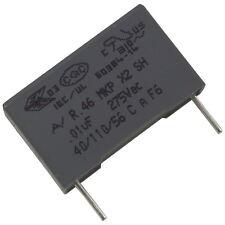 5 Kemet r46ki21000001m mkp-funkentstörkondensator 275v 10nf rm15 856640