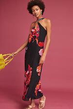 Anthropologie Cayman Silk Maxi Dress  NWT  new with tag L