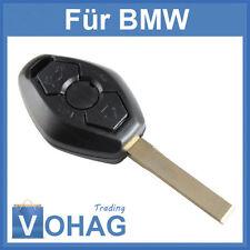3 Tasten Ersatz Schlüssel Gehäuse E39 E53 E60 E63 3 5 Rohling Auto BMW Neu