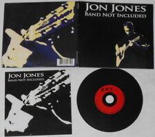 Jon Jones  Band Not Included  U.S. cd, digipak