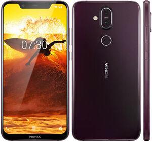 NOKIA 8.1 Global Version 4gb/64gb Dual Sim Cards 12mp Fingerprint Id Android NFC