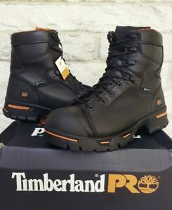 """Timberland PRO 8"""" Endurance Steel Toe IN WP Work Boots Size 10 Wide 95567 $195"""