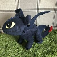 OFFICIAL How to Train Your Dragon Plush Toothless Soft Toy Doll Whitehouse 2015