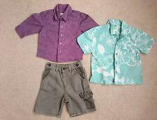 Monsoon TED BAKER Baby Boys Bundle Tenues âge 9-12-18 Mois Top Shirts Short