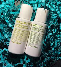 Malin + Goetz-Ron Duo-Body Wash & Loción 30ml cada Marca Nuevo