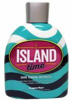 Supre ISLAND TIME DARK Tanning Maximizer Indoor Tanning Bed Lotion