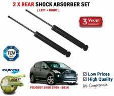 FOR PEUGEOT 3008 1.6 2.0 HDi VTi THP 2009-> 2X REAR LEFT + RIGHT SHOCK ABSORBERS