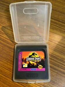 Jurassic Park - Sega Game Gear video game system