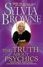 Sylvia Browne~THE TRUTH ABOUT PSYCHICS~SIGNED 1ST/DJ~NICE COPY