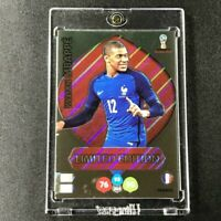 KYLIAN MBAPPE 2018  PANINI ADRENALYN XL LIMITED EDITION GOLD FOIL WORLD CUP