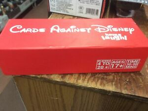 Cards Against Disney *Red Edition* - Brand New -