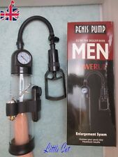Penis Enlarger Pump Impotence & Masturbation Device vibrating male sex toy lever