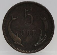 Denemarken - Denmark 5 Ore 1891 Cristian IX - KM# 794.1