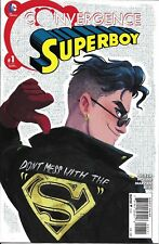 Superboy Comic Issue 1 Convergence Modern Age First Print 2015 Nicieza Moline DC