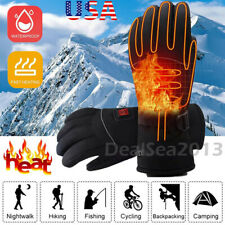 Electric Battery Powered Touchscreen Winter Hand Warm Heated Gloves Waterproof