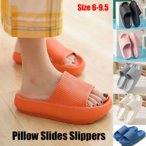 2021 Pillow Slides Sandals Ultra-Soft Slippers Cloud Shoes Anti-Slip Extra Soft