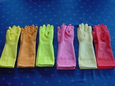 Gummihandschuhe Latex gloves Rubbergloves Rubber Gloves 6 Paar Gr.M Neu