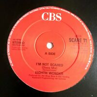 "EIGHTH WONDER I'm Not Scared (Disco Mix) 12"" SIngle 1988 ( Pet Shop Boys) VG+"