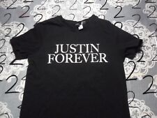 Small- Justin Bieber Tour / Tall Divided Brand T- Shirt