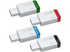Kingston 16GB 32GB 64GB 128GB DT 50 USB 3.1 3.0 Pendrive Stick Flash Memoria ES