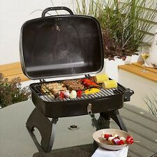 NEW Tesco Portable Gas BBQ - Black
