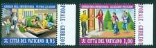 2016 Vatican City Sc# 1624-5 Jubilee of Mercy - Shelter the Homeless MNH