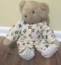 """Vermont Teddy Bear 16"""" Jointed With Pajamas"""