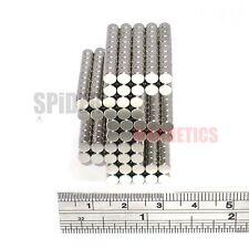 500 Imanes 4x3 mm N52 Neodimio Disco Redondo Pequeño Neo Craft Imán 4mm diámetro x 3mm