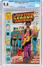 Justice League of America #95 (Dec 1971, DC Comics) CGC 9.4 NM Letter from Gruen
