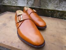 CHEANEY / CHURCH MONK STRAP – BROWN /TAN – UK 10.5 – ASCOT -EXCELLENT  CONDITION