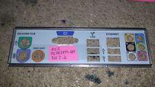 Panneau shield i/o ECS MCP61PM-HM REV 2.2 plaque arriere