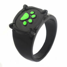 Charm Tale of Miraculous Ladybug Chat Cat Noir Green Pawprint Ring Anime Cosplay