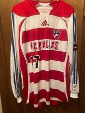 FC Dallas Simo Valakari Game Used Worn Long Sleeve Home Jersey W/COA