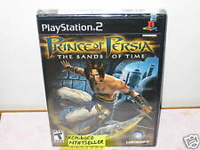 Prince of Persia The Sands of Time PS2 New Holo Sealed