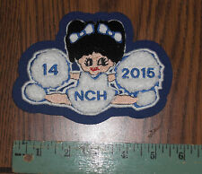 CHEERLEADER CHENILLE PATCH for Varsity Cheerleader Jacket  large new old stock