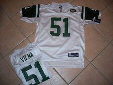NWT NEW YORK JETS JERSEY SHIRT VILMA YOUTH  XL 18 WHITE