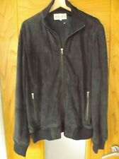 "Quality Mens REISS ""Oakland"" Leather Suede Bomber Jacket .XXL / XL . RRP £325."