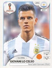 287 GIOVANI LO CELSO ARGENTINA UPDATE STICKER WORLD CUP RUSSIA 2018 PANINI