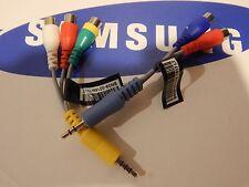 SAMSUNGTV Adapter Component & AV Video Cables   -AUS SELLER-
