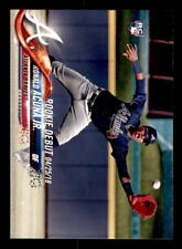 2018 Topps Update #US252 Ronald Acuna Jr. Rookie (ref 0194)
