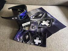 CUSTOM Oakley Batwolf Infinite Hero Carbon & Violet Rare Sunglasses Collectors