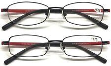 E113/4 Quality Optical Metal Frame Reading Glasses/Flexible PC Arm Matte Design