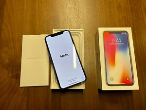 Apple iPhone X - 256GB - Space Gray (Unlocked) A1901 (GSM)